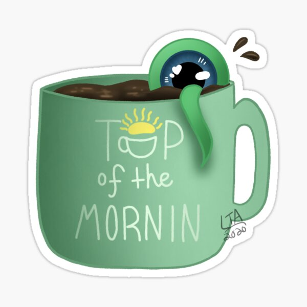 Coffee Sam (Jacksepticeye) Sticker