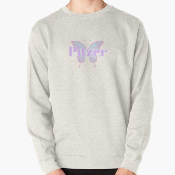 Claremont Colleges: Butterfly Pitzer Sticker Pullover Sweatshirt