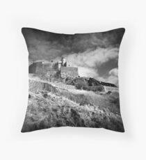 Gorey Castle Throw Pillow
