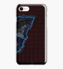 USGS TOPO Map Guam Pati Point 462407 2000 24000 Inverted iPhone Case/Skin