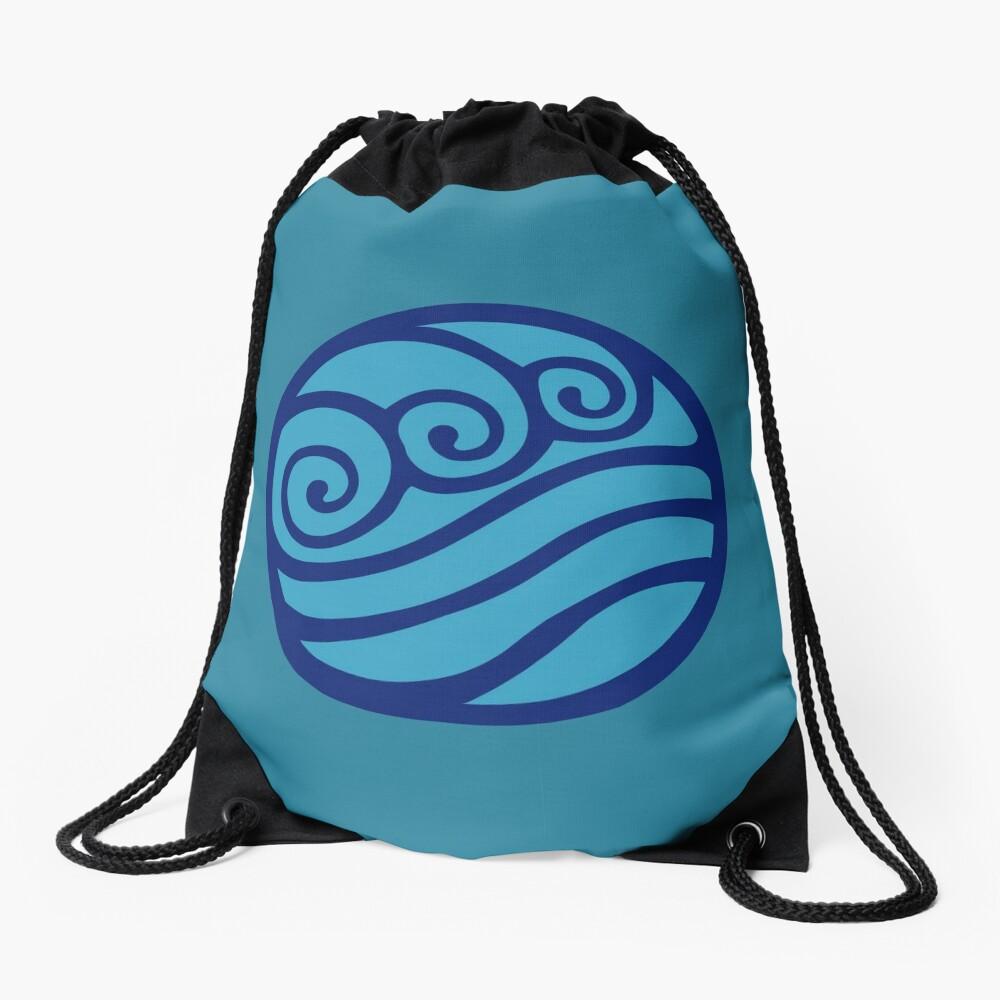 Southern Water Tribe Drawstring Bag