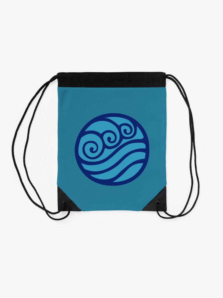 Alternate view of Southern Water Tribe Drawstring Bag