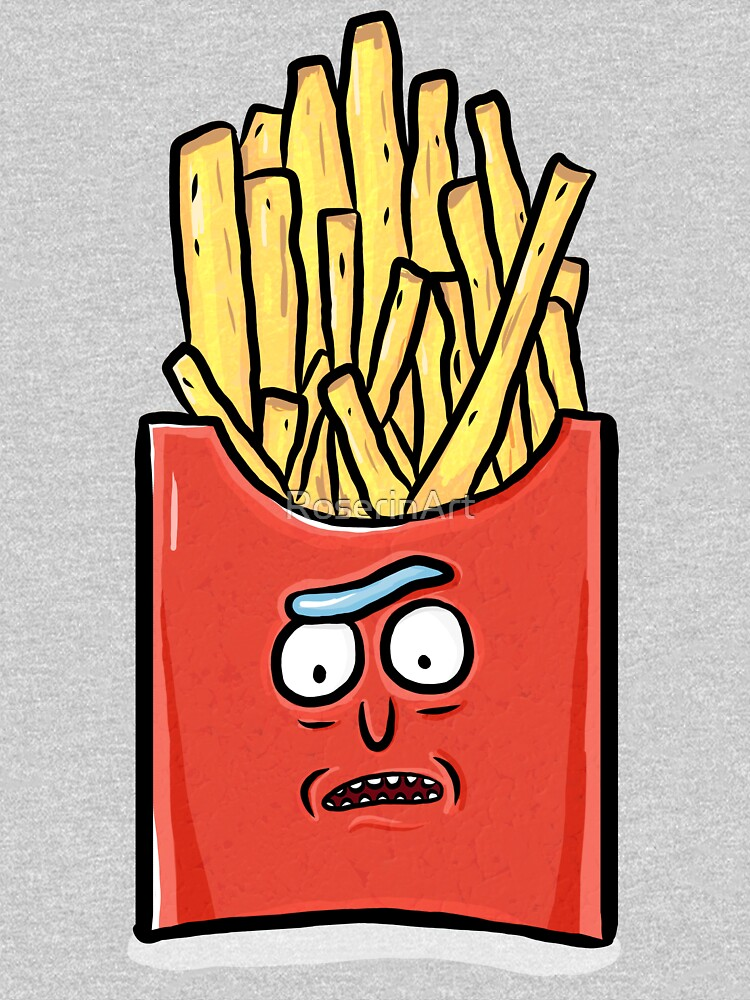 French Fries Rick Sanchez - Rick and Morty by RoserinArt