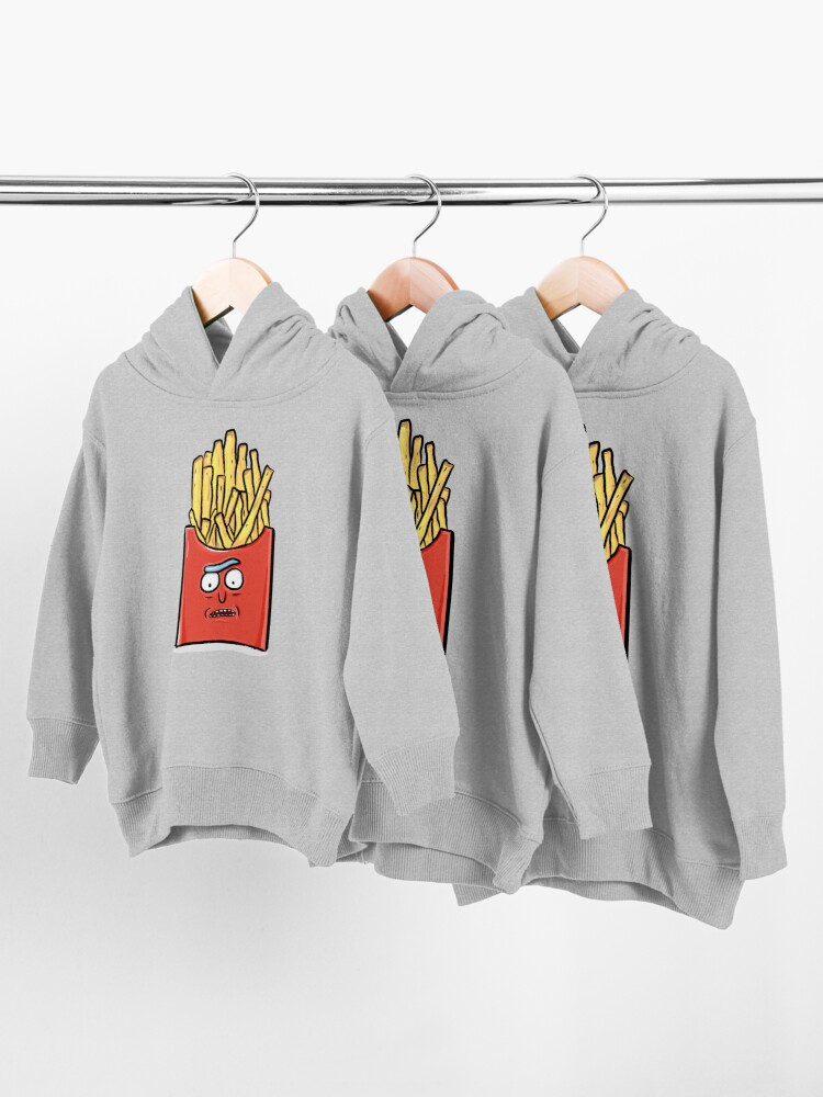 Alternate view of French Fries Rick Sanchez - Rick and Morty Toddler Pullover Hoodie