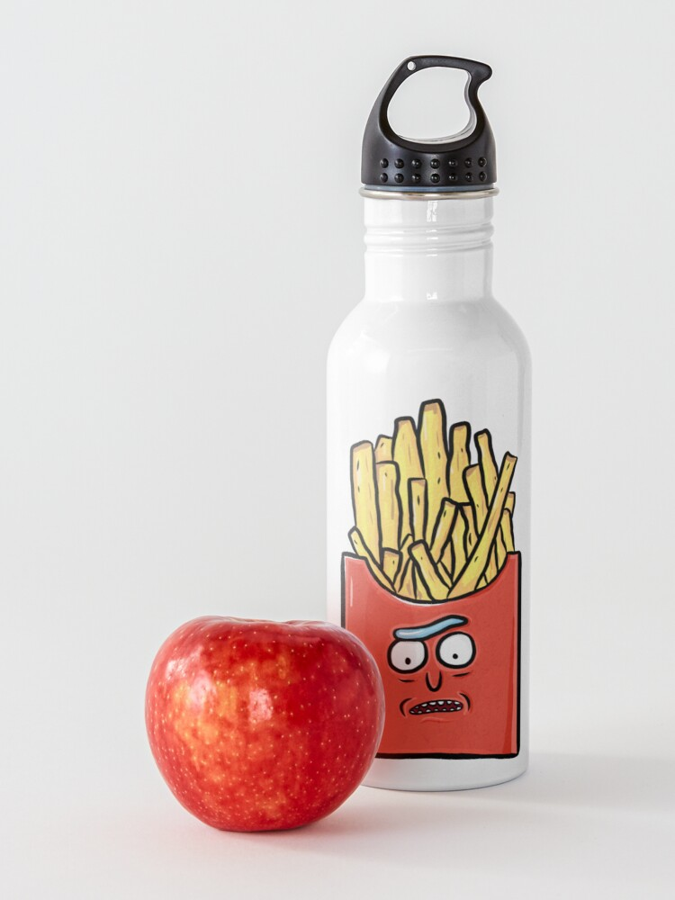 Alternate view of French Fries Rick Sanchez - Rick and Morty Water Bottle