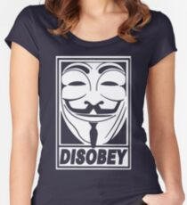 Obey This Shirt Women's Fitted Scoop T-Shirt