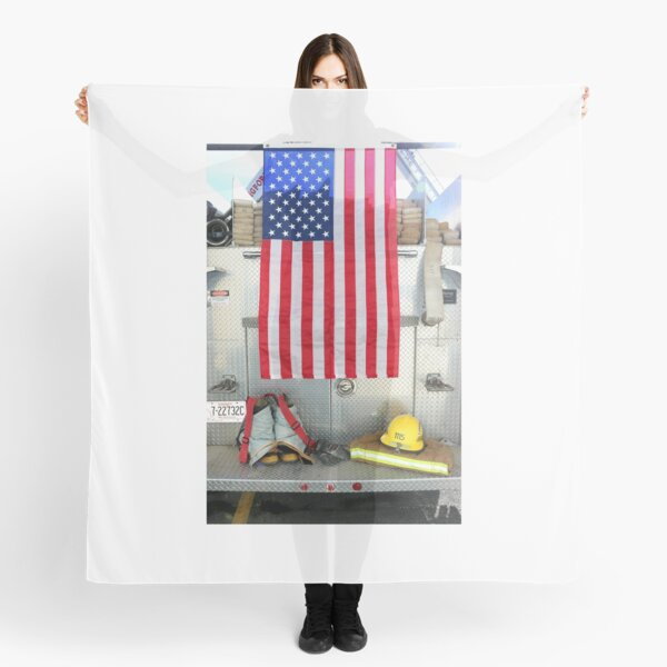 A Firefighters Farewell, A Tribute to The Firefighters Everywhere  Scarf
