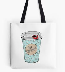 Stained Coffee Cup  Tote Bag