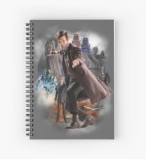 The Eleventh Doctor Spiral Notebook