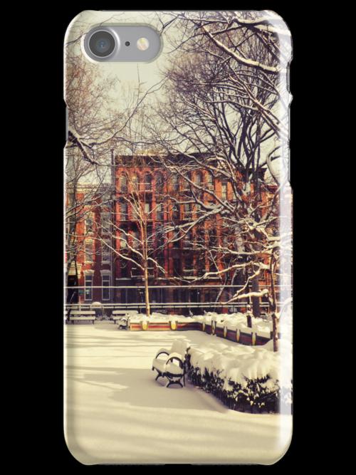 Winter - East Village - New York City by Vivienne Gucwa