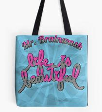 'Life is beautiful'// Typography  Tote Bag