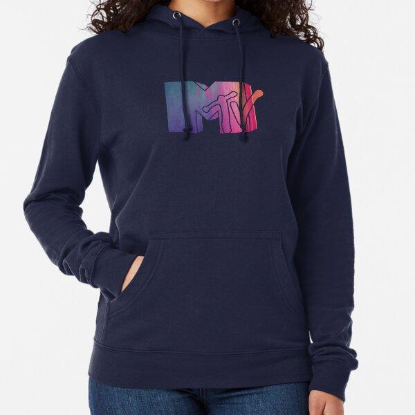 Colorful MTV Logo Lightweight Hoodie