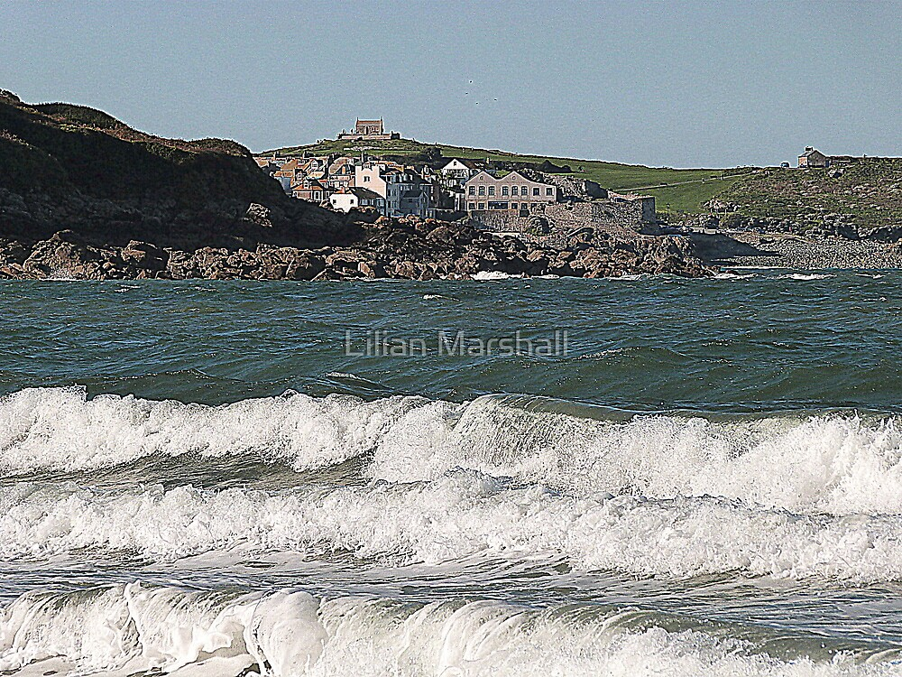 Rollers at Carbis Bay. by Lilian Marshall
