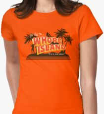 Greetings from... Womens Fitted T-Shirt