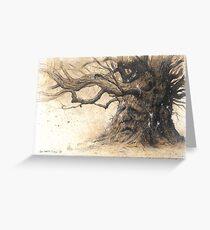 The Oak Shee Greeting Card