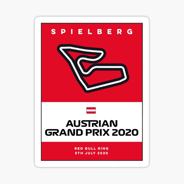 Österreichring Aufkleber Austrian GP Sticker 80er Jahre