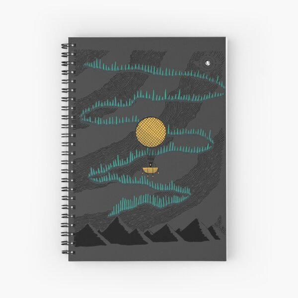 Northern Nights Spiral Notebook