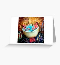 Froth Greeting Card