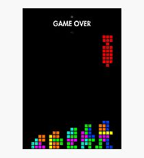99 Steps of Progress - Game over Photographic Print