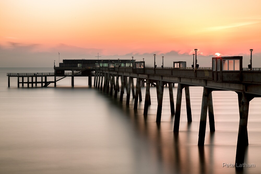 Pier at Sunrise by Pete Latham