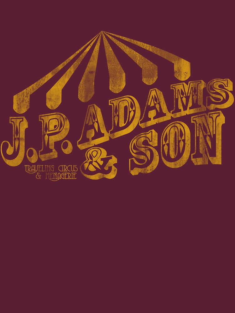 J.P. Adams and Son Traveling Circus & Menagerie  | Women's T-Shirt
