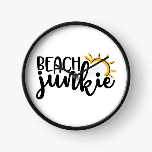 Beach junkie Clock