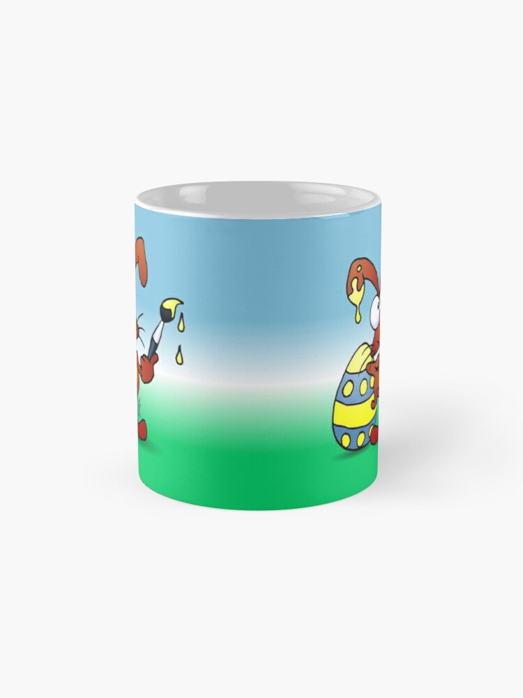 Alternate view of The Easter Bunny wishes you Happy Easter Mug