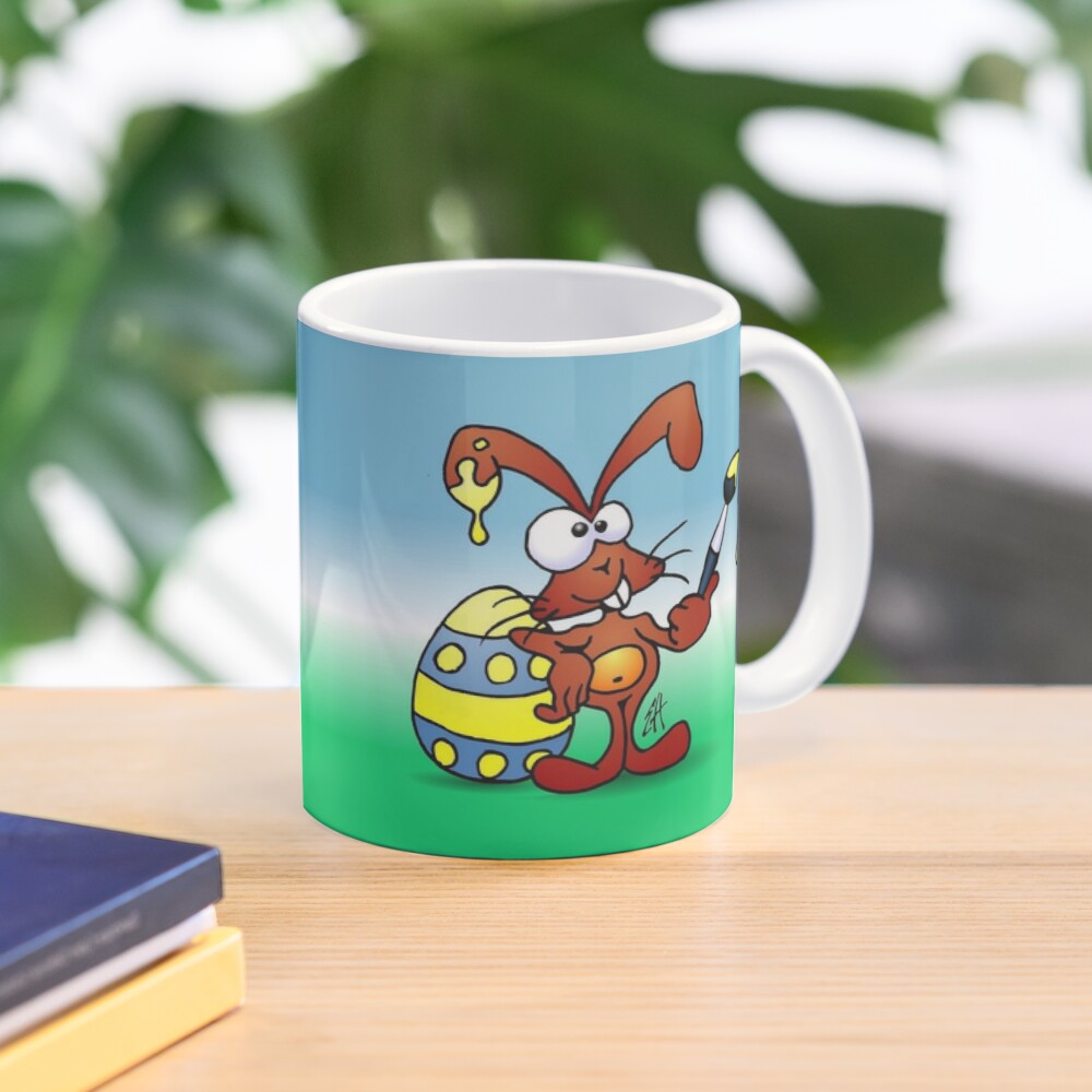 The Easter Bunny wishes you Happy Easter Mug