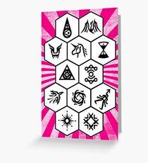 EXO Card 4 Greeting Card