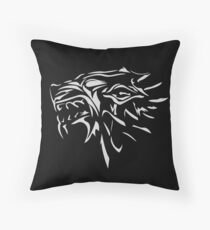 Dire wolf Throw Pillow