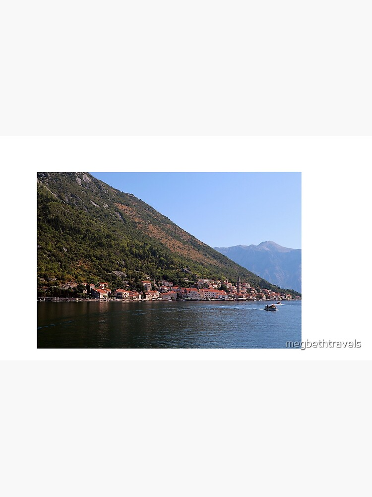 A view of Perast, Montenegro by megbethtravels