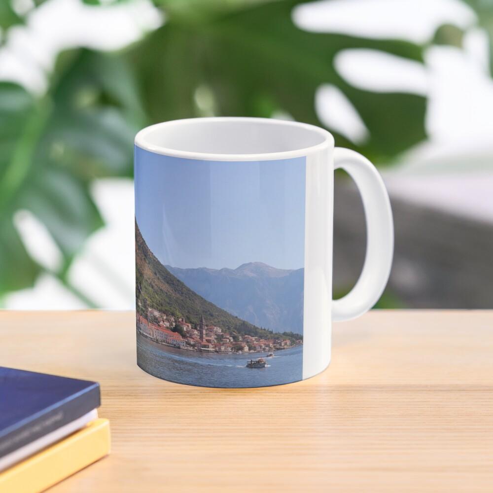 A view of Perast, Montenegro Mug