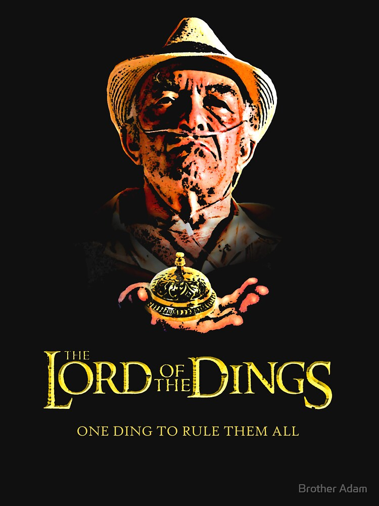 TShirtGifter presents: Lord of the Dings | Unisex T-Shirt