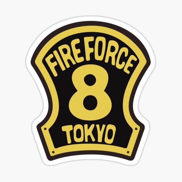 FIRE FORCE TOKYO 8 Sticker
