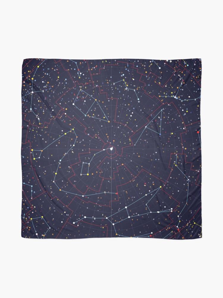 Alternate view of Night Constellations Scarf