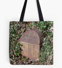 Meridian Line Marker Stone Tote Bag