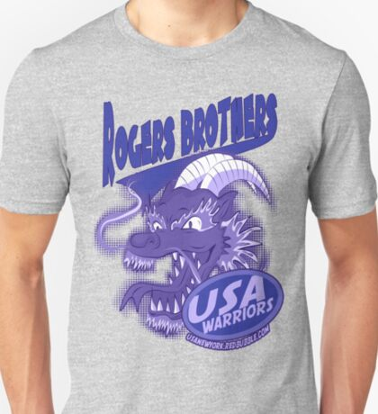 usa warriors chinatown by rogers bros T-Shirt