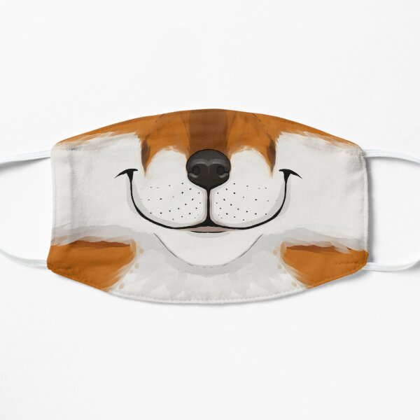 Emotive - Happy Fox Flat Mask