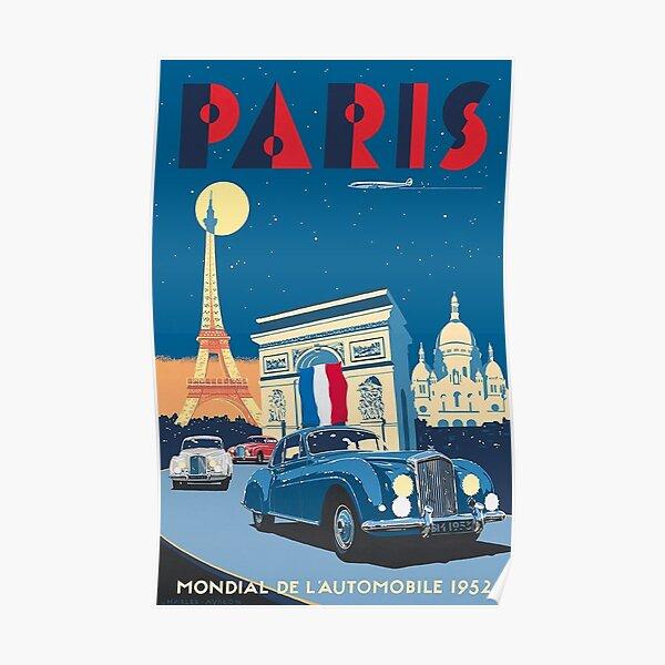 Art Deco Paris  Poster