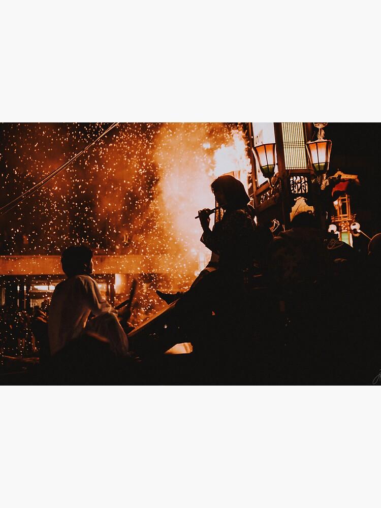 Japan Fire Festival by JeessReneePhoto