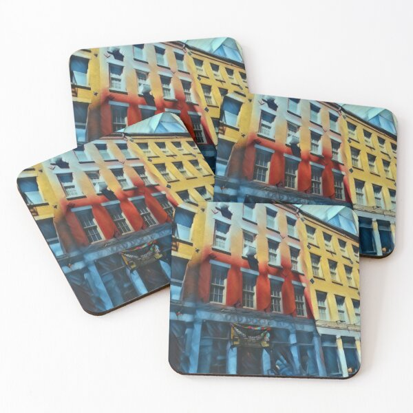 Downtown NYC Coasters (Set of 4)