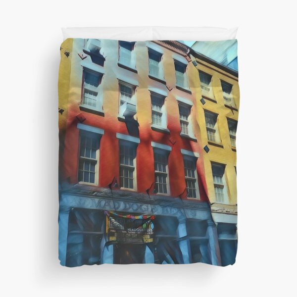 Downtown NYC Duvet Cover