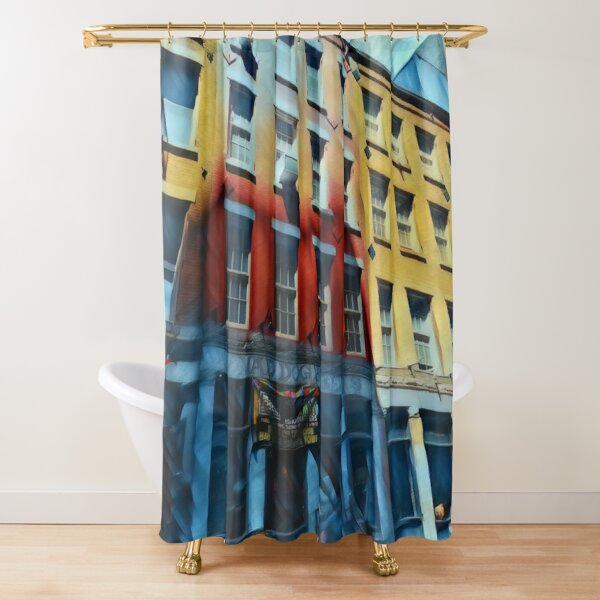 Downtown NYC Shower Curtain