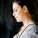 three tubes painting 1 by Hidemi Tada