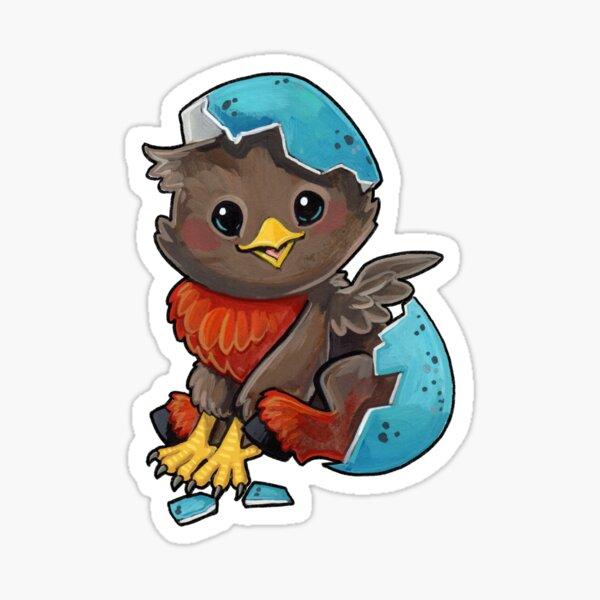 Robin hippogriff Sticker