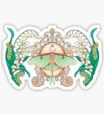 Moon Moth Sticker