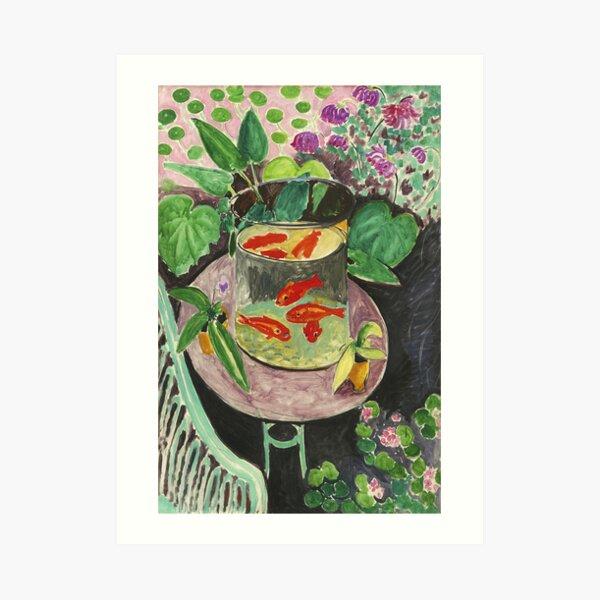 Goldfish Henri Matisse Art Print