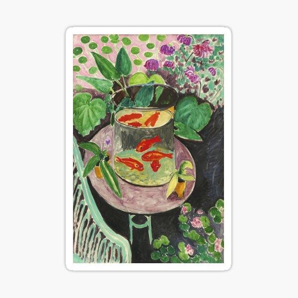 Goldfish Henri Matisse Sticker