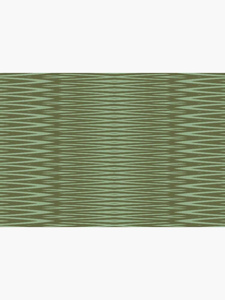 Olive Green Diamond Stripes Pattern by RootSquare