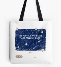Die Wahrheit ist, dass die Sterne fallen, Babe Tasche